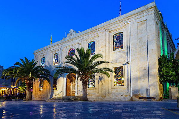Heraklion, Crete, Greece - St. Titus Church
