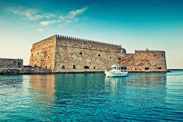 Heraklion, Crete, Greece- Koules Castle