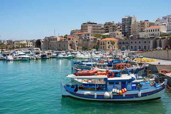 Heraklion, Crete, Greece - Old Port